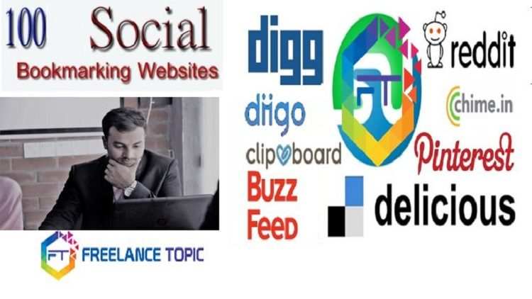 Top Social Bookmarking Sites List With High PR