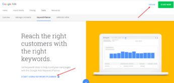 How to Use Google Keyword Planner in 2018