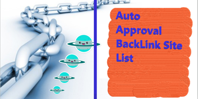 Auto approve backlink sites