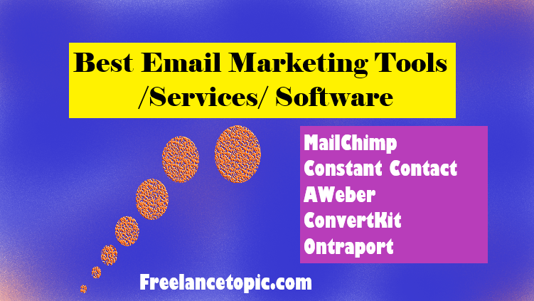 5 Best Email Marketing Services-tools (2019)