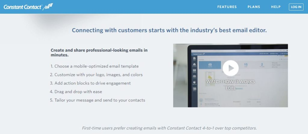 Best Email Marketing tools Constant Contact