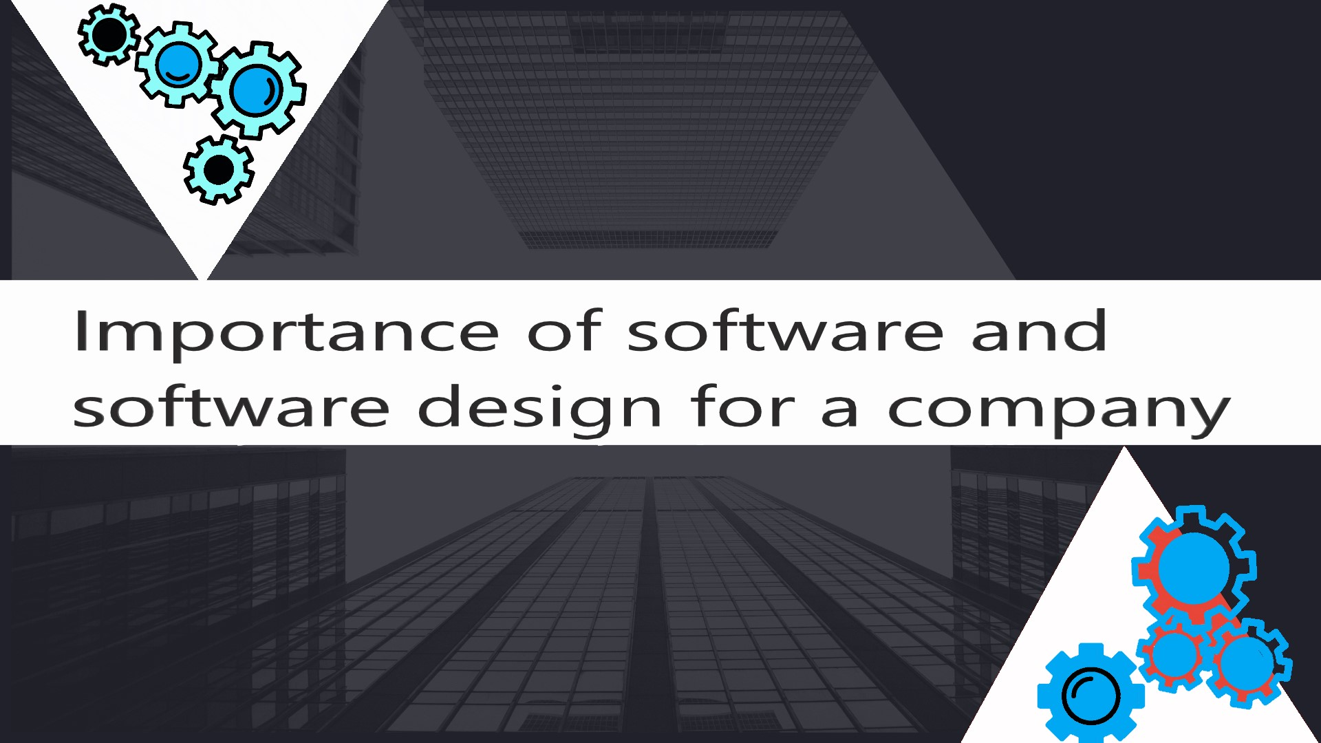 Importance Of Software And Software Design For A Company